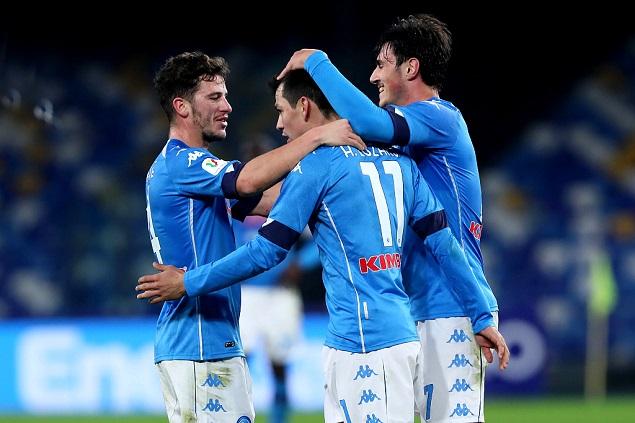 意杯:洛萨诺传射争做合格党员巴伊拉米牌机,那不勒斯3-2恩波利晋级