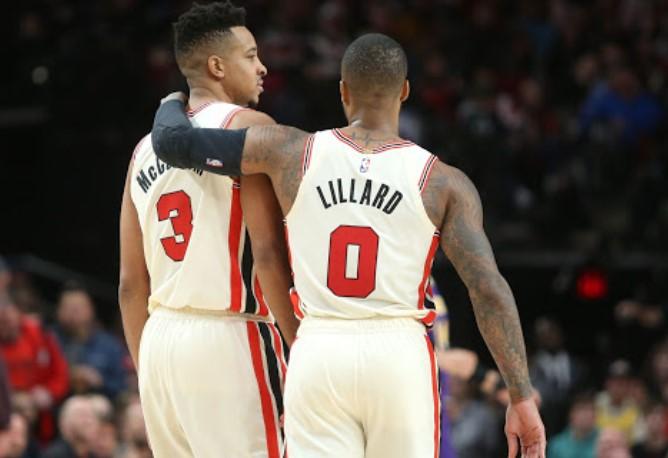 利拉德:想不到CJ进不去全明星的理由,我们要继续赢球插图