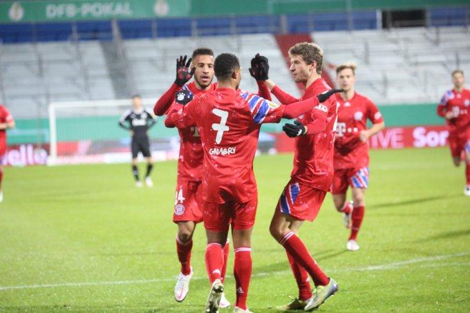 GIF:格纳布里破门,拜仁慕尼黑取得领先