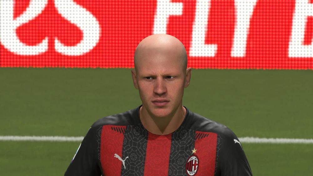 FIFA21更新米兰名单:曼朱基奇暂无脸型授权,造型雷人