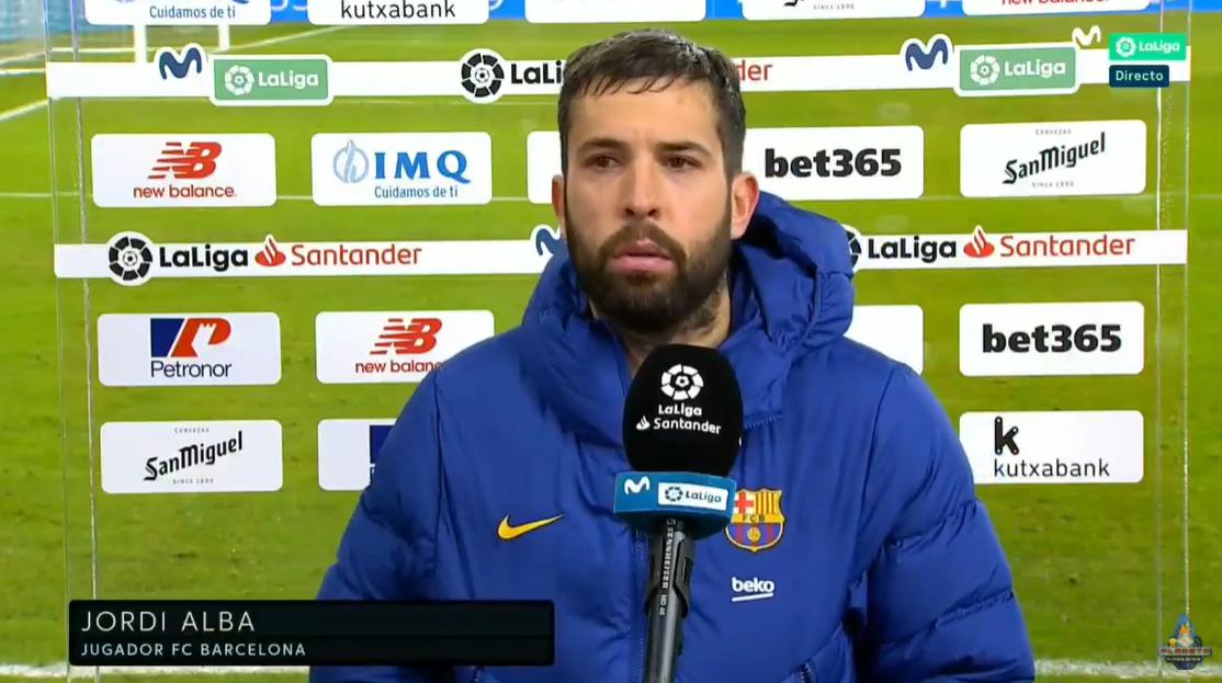 阿尔巴:佩德里很谦虚,这很重要,要多听老球员的插图