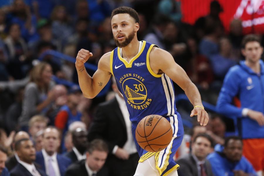 库里:儿子觉得我不是篮球球员,比赛都是塞思达米恩打的