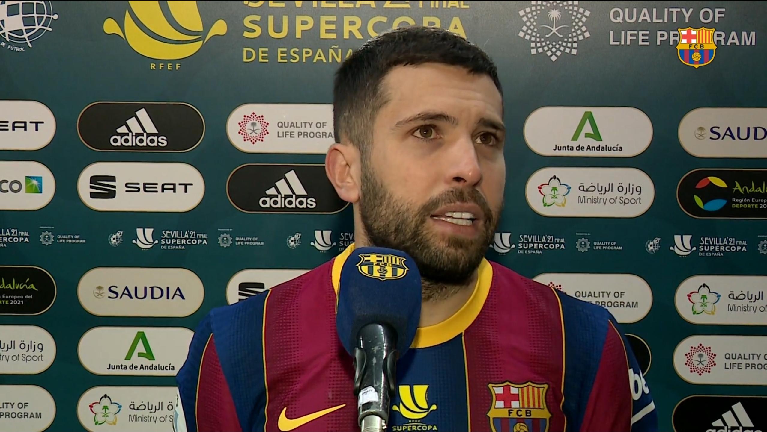 阿尔巴:遗憾没能夺冠,结果苦涩但球队已付出了所有