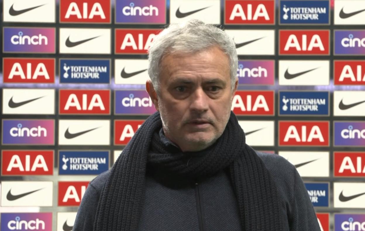 穆里尼奥:我们本有机会杀死比赛;富勒姆有点走运