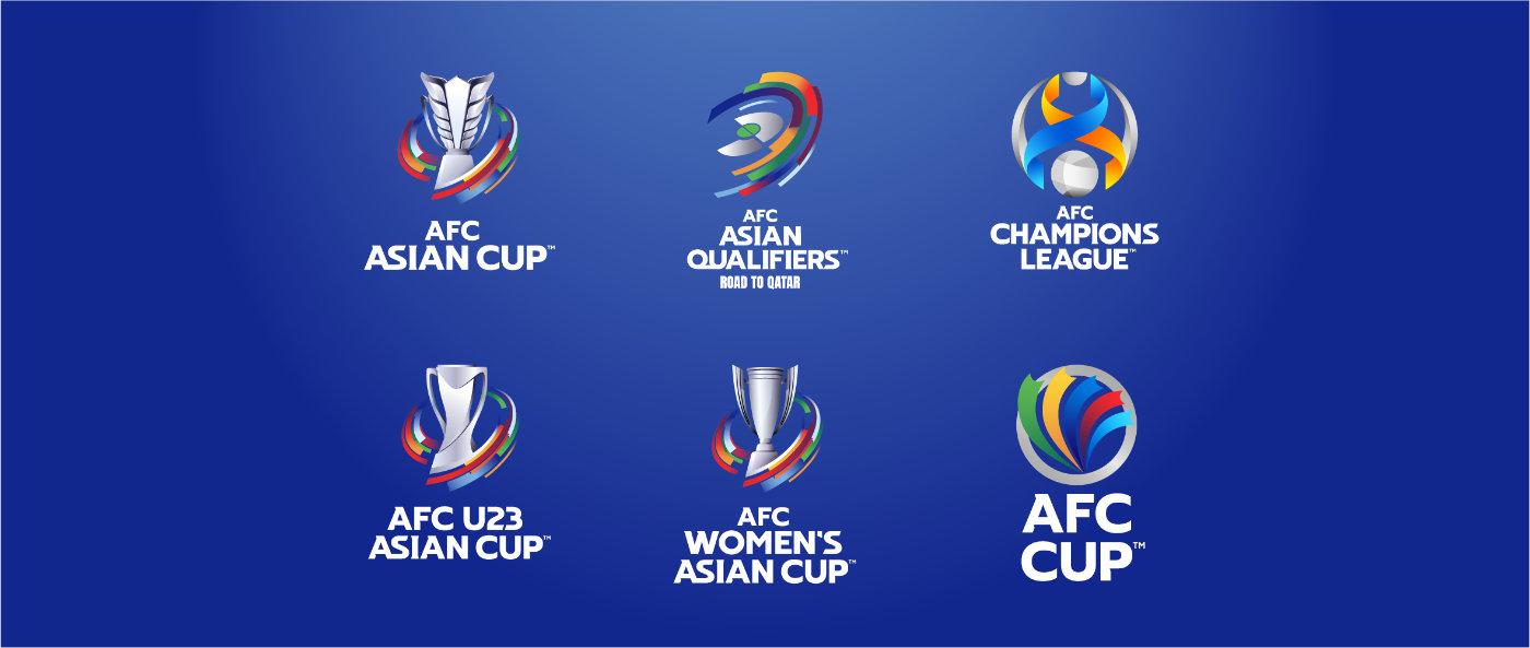 官方:亚足联推出国家队及俱乐部赛事最新品牌标识