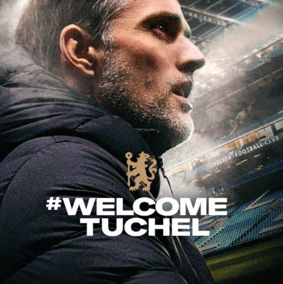 官方:图赫尔就任切尔西主教练,签约一年半