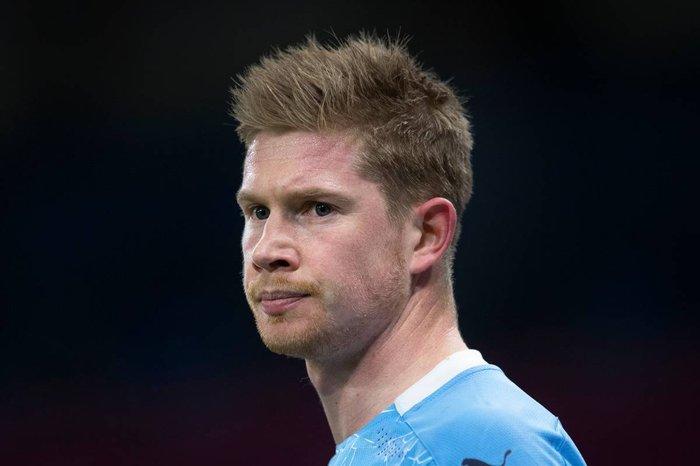 德布劳内腿筋受伤预计缺席2-3周,恐错失和利物浦的比赛