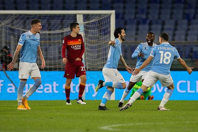 意甲:阿尔贝托双响因莫比莱破门,拉齐奥3-0罗马迎三连胜