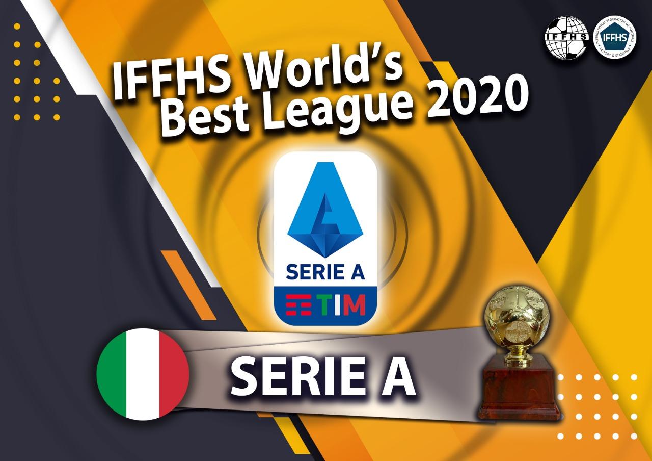 IFFHS2020国际职业联赛排名:意甲榜首,中超位列43亚洲第4