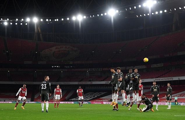 英超联赛第二十一轮,阿森纳主场迎战曼联