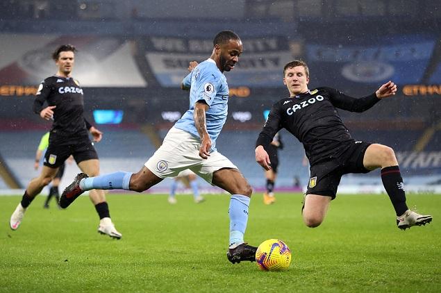 半场:沃克伤退B席抢点险破门,曼城0-0阿斯顿维拉