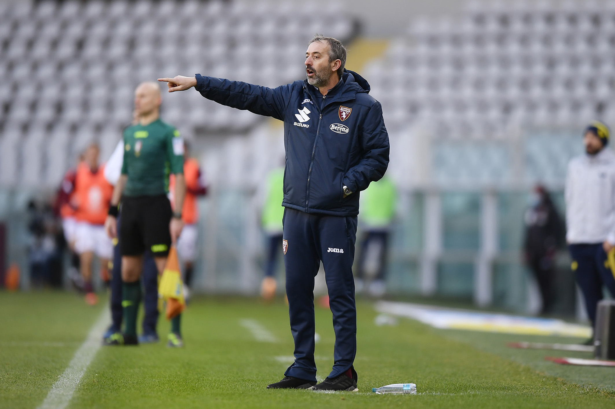 都灵俱乐部官方宣告马尔科-詹保罗不再担任球队主教练一职