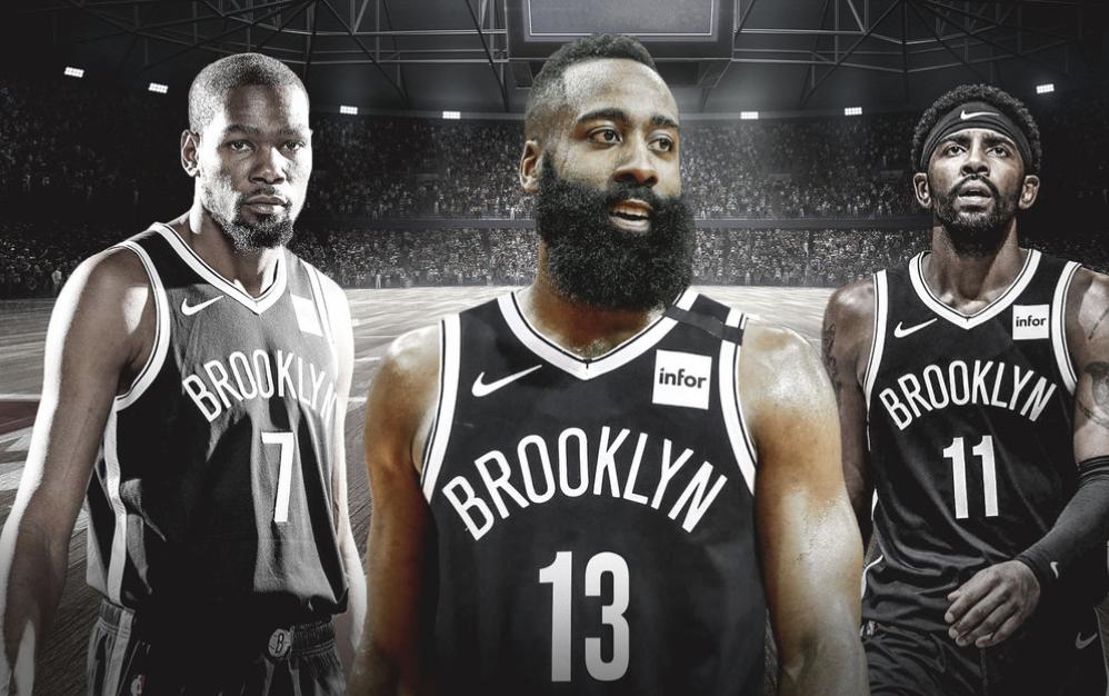 篮网三巨头皆拥有球员选项,可在2022年同时跳出合同