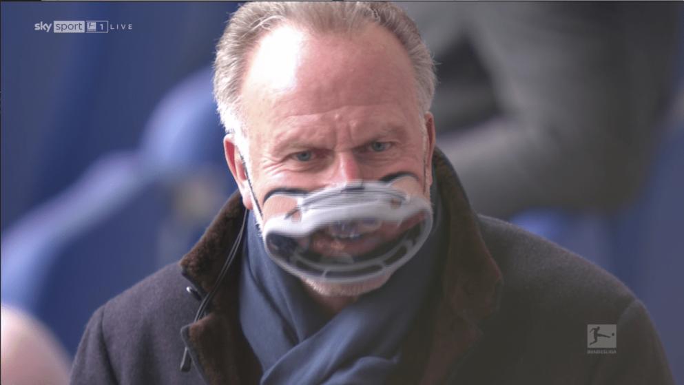 """医用口罩让眼镜起雾?鲁梅尼格选择戴""""潜水""""面罩来防护"""