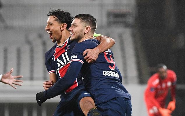 巴黎2-1马赛豪取法超杯八连冠:伊卡尔迪破门,内马尔点射