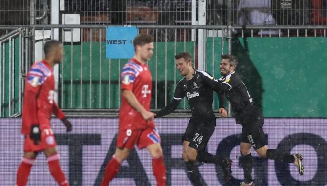 拜仁慕尼黑队史上在德国杯只有两次点球大战