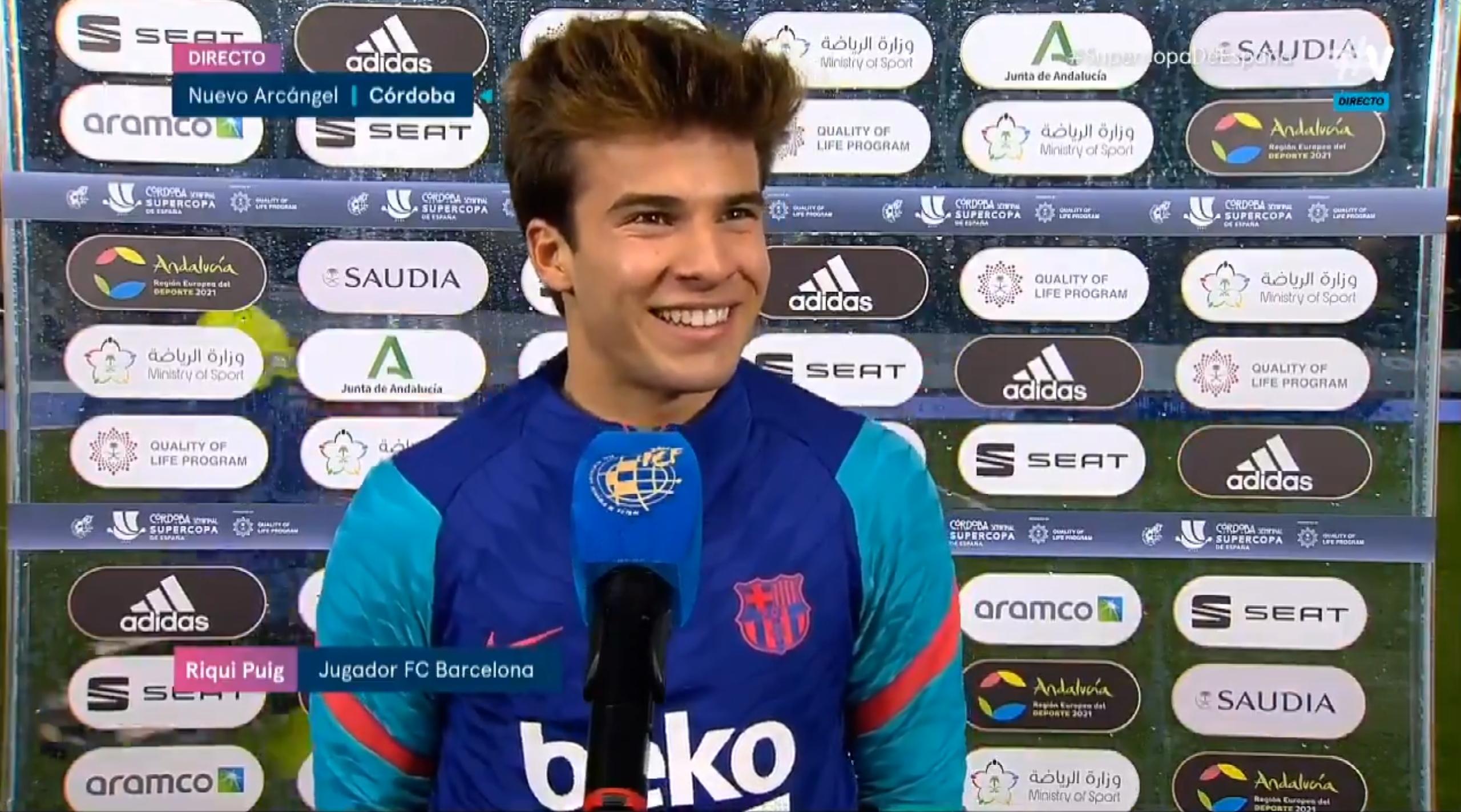 西甲联赛冠军 普吉:罚之前我就知道点球能进,格子早踢进点球不就完事了
