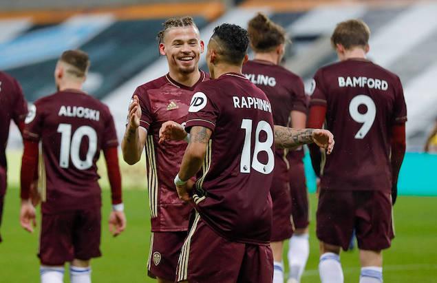 英超:小拉菲尼亚传射,纽卡1-2利兹联遭联赛9轮不胜
