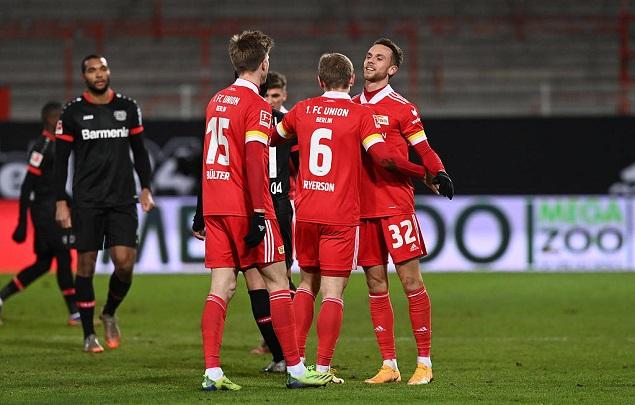 德甲:托伊歇特单刀绝杀,勒沃库森客场0-1柏林联合