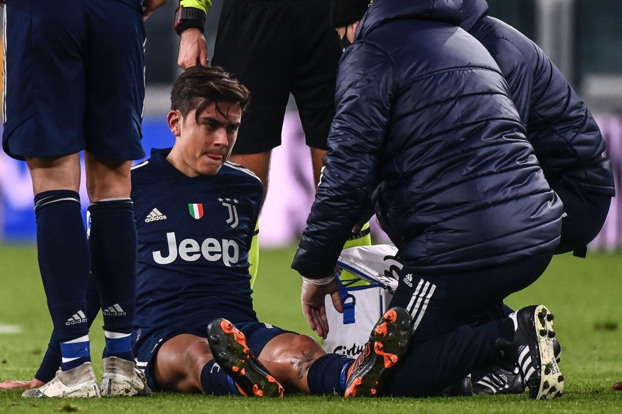 尤文官方:迪巴拉左膝内侧副韧带轻伤,预计缺席两到三周插图