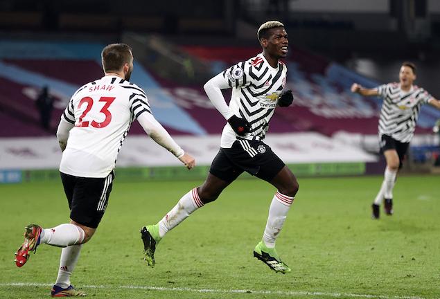 博格巴世界波马奎尔进球被吹,曼联客场1-0伯恩利登顶榜首插图