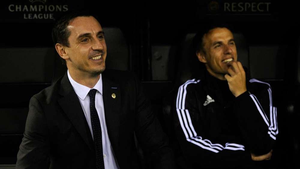 内维尔:若小贝不知菲尔能否担任教练一职,就不会让他执教