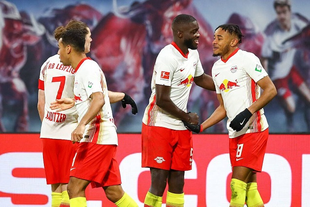 德甲:恩昆库破门取胜,莱比锡1-0小胜勒沃库森
