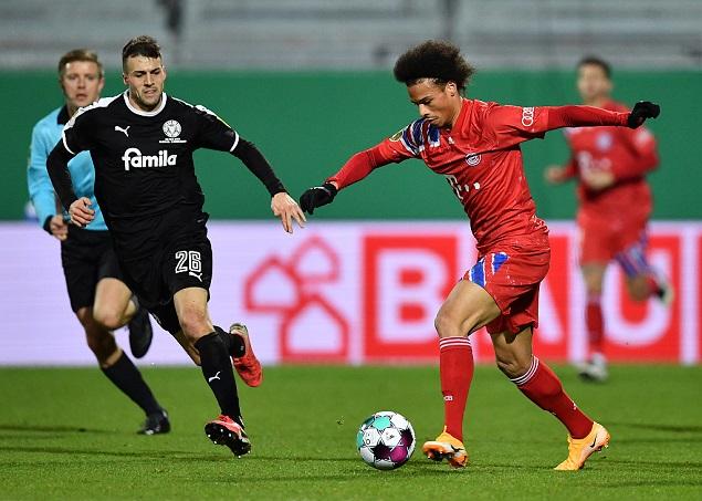 德国杯第二轮,拜仁慕尼黑客场挑战基尔荷尔斯