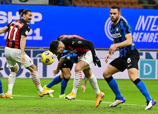 半场:伊布破门托莫里替补首秀,国米0-1米兰
