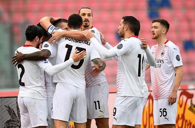 意甲联赛第20轮,AC米兰客场应战博洛尼亚