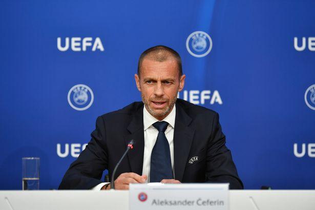 欧足联主席:许诺在其时12个城市举行欧洲杯,期望球迷回归