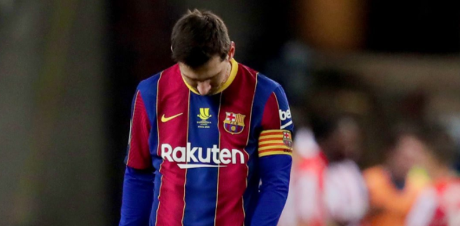 梅西因超级杯犯规被禁赛两场,巴萨将继续提出上诉