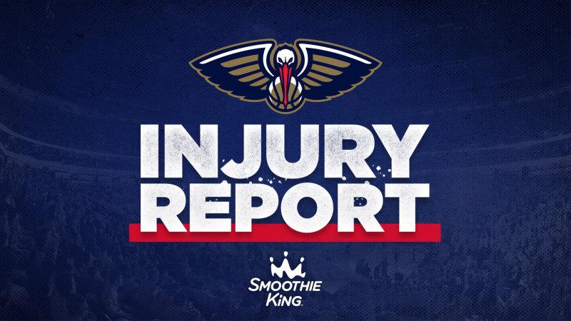 Eric bledsoe(右眼发炎)开始怀疑;兰佐·鲍尔(双膝受伤)将继续缺席