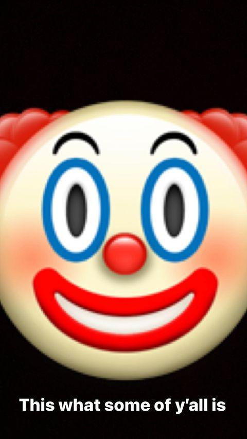 杰拉德-格林晒小丑表情:你们中的有些人就是这个