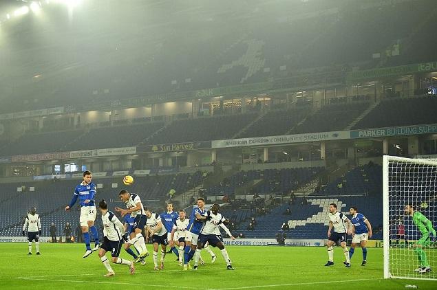 特罗萨尔破门制胜格罗斯中柱托比救险,布莱顿1-0热刺