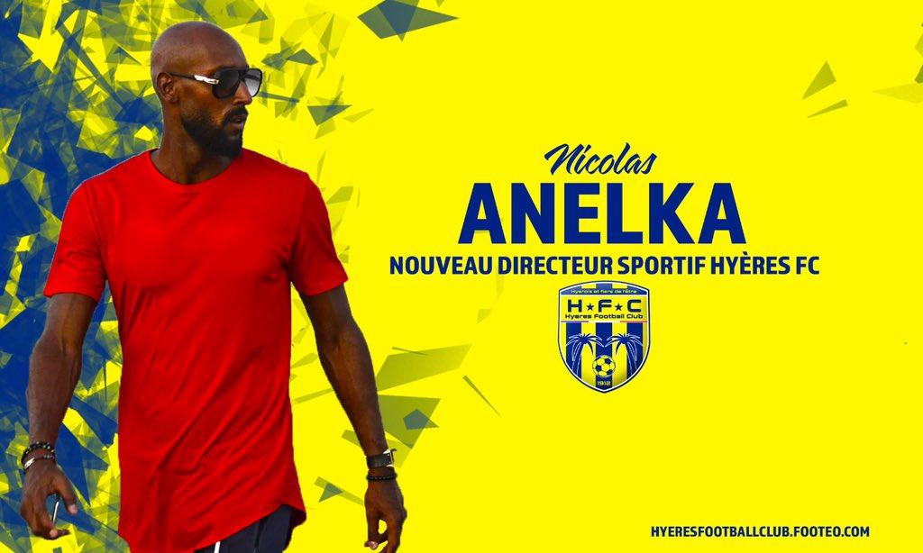 法国第五级别球队Hyères官方:任命阿内尔卡为新任体育总监
