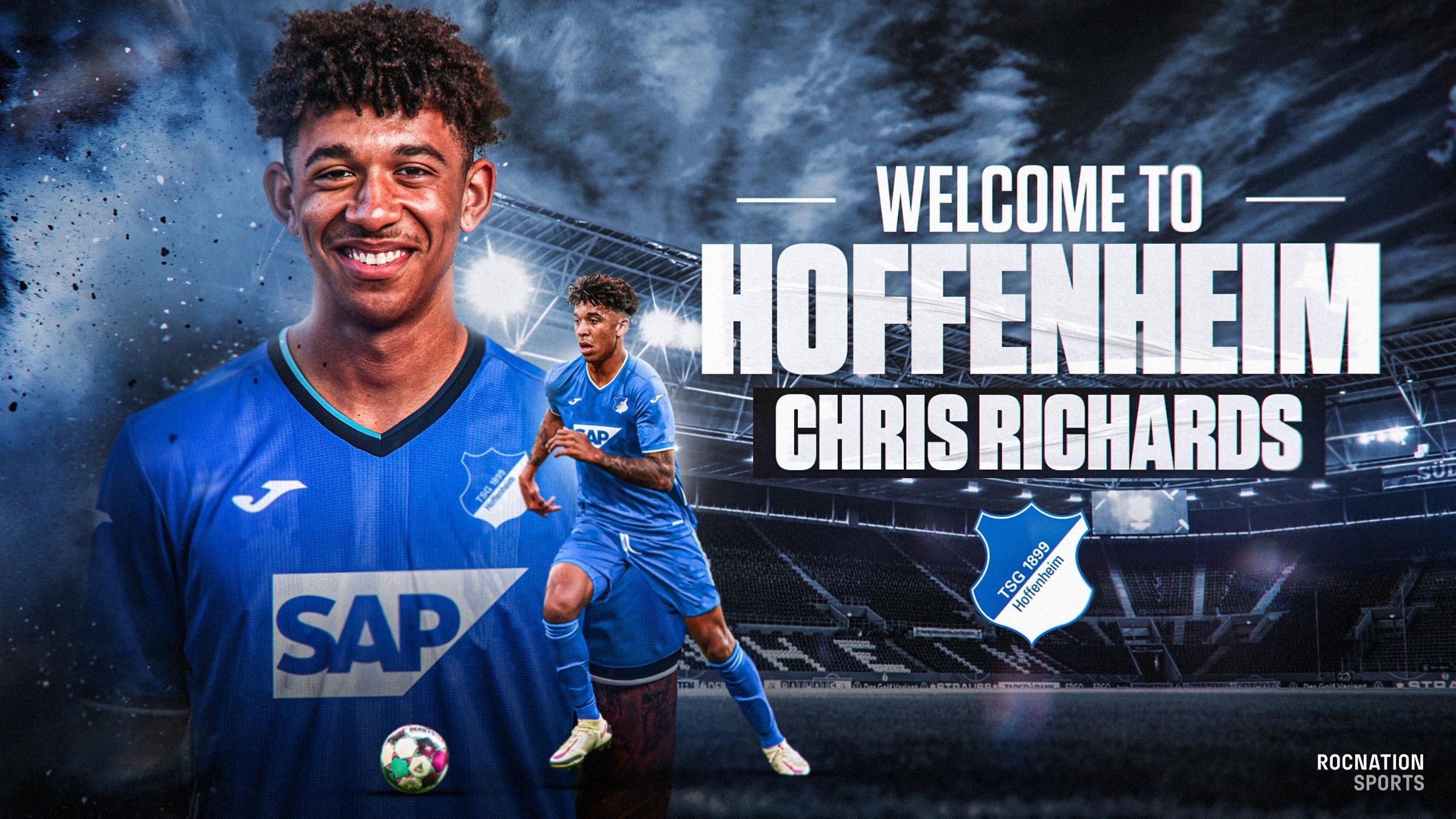 官方:霍芬海姆租借拜仁后卫理查兹至赛季结束