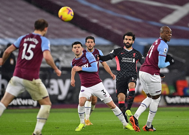 GIF:道森推射破门扳回一城,西汉姆联1-3利物浦