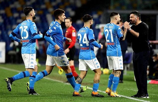 意甲:埃尔马斯一条龙破门波利塔诺建功,那不勒斯2-0帕尔马