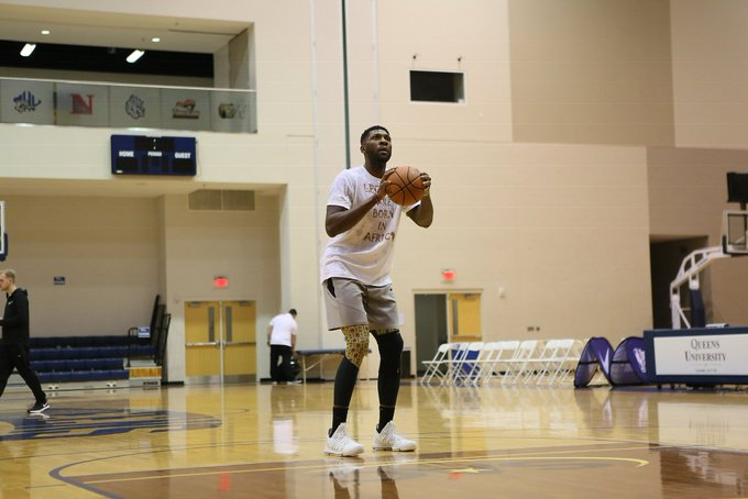 埃泽利:我的目标是重返NBA,不管我得做什么我都乐意