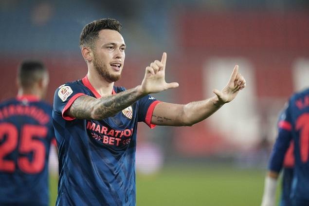 国王杯:奥坎波斯头球制胜,塞维利亚客场1-0阿尔梅里亚晋级