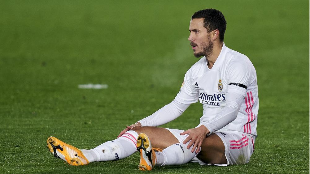 皇马官方:阿扎尔左腿直前肌受伤,预计无缘欧冠首回合