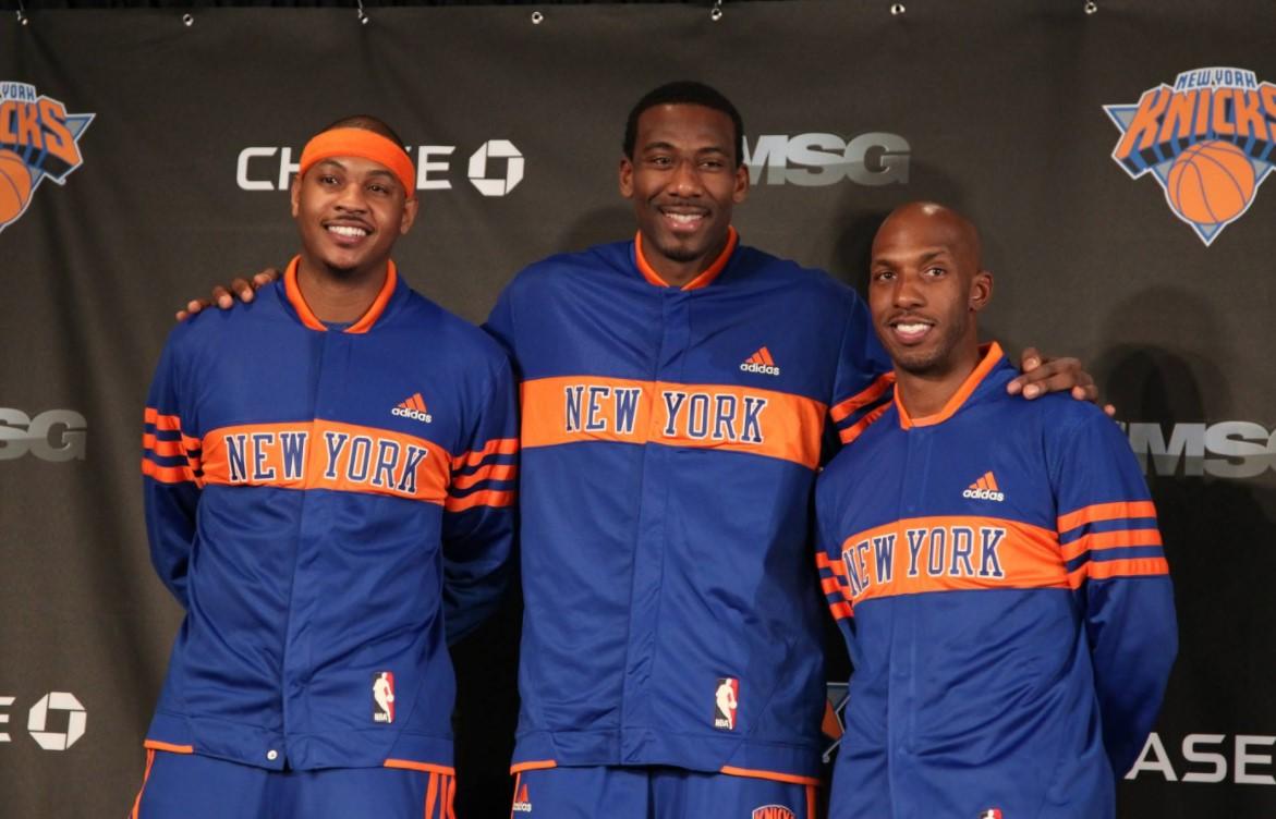 安东尼:当年爵士湖人篮网都提出报价,纽约最后时刻加入
