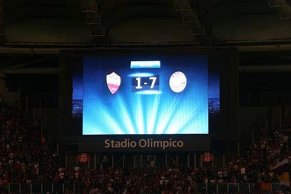拜仁曾在罗马7-1大胜,拉齐奥连续12场欧冠有进球