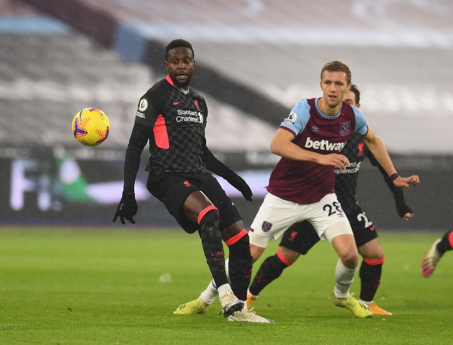 半场:奥里吉造险,利物浦客场0-0西汉姆联