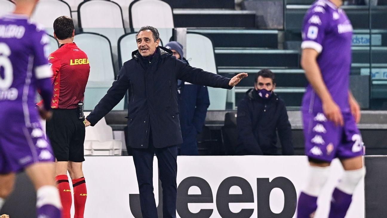 官方:普兰德利由于非足球原因辞去佛罗伦萨主帅职务