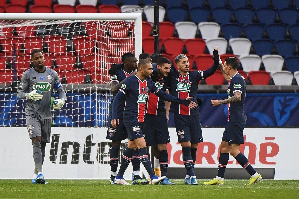 半场:伊卡尔迪破门+伤退姆巴佩替补建功,巴黎2-0里尔-欧凯