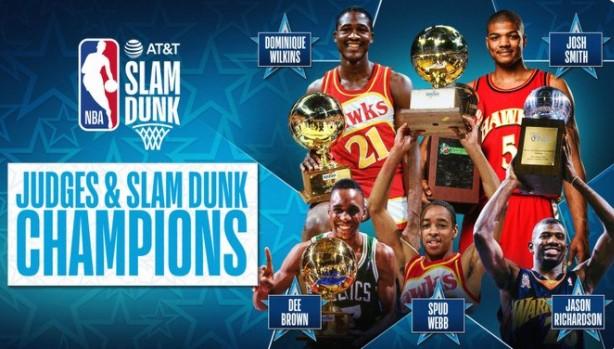 NBA公布扣篮大赛评委:5人皆为扣篮王,威尔金斯领衔