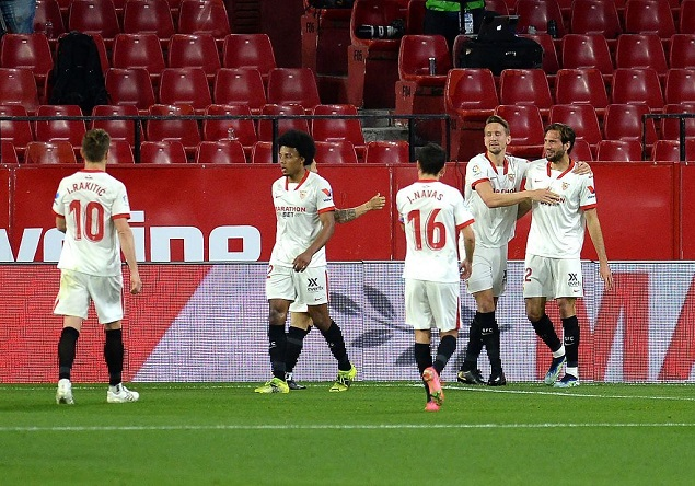 西甲:恩-尼西里建功巴斯克斯精彩破门,塞维利亚2-0埃尔切-欧凯