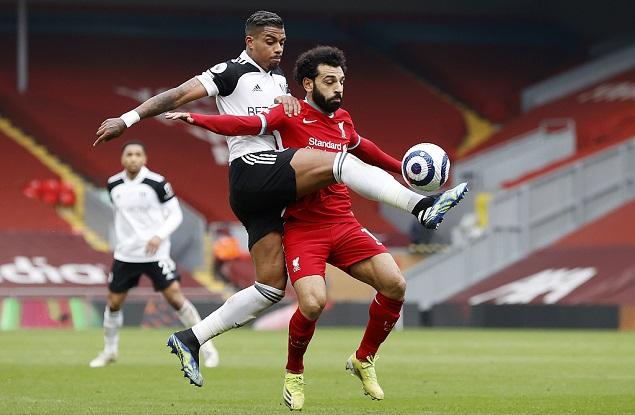 勒米纳抽射建功马内头球中框,利物浦0-1富勒姆主场六连败